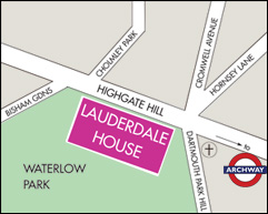Lauderdale House Map